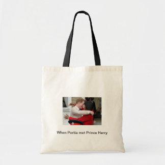 Portia e sacola do príncipe Harry Bolsa
