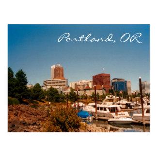 Portland pelo cartão do rio