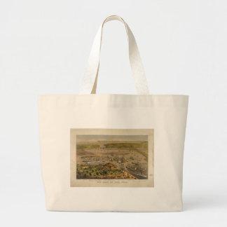 Porto de New York pelo Currier & pelo Ives em 1878 Bolsas