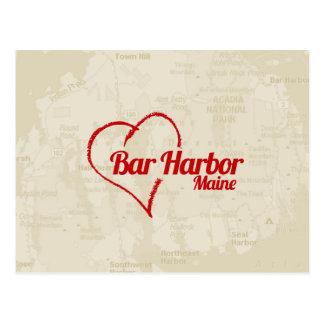 Porto do bar do amor, MIM cartão