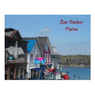 Porto do bar, Maine Cartão Postal