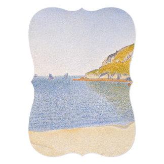 Porto do Santo-Molde por Paul Signac Convite 12.7 X 17.78cm