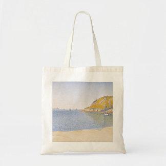 Porto do Santo-Molde por Paul Signac Sacola Tote Budget