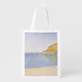 Porto do Santo-Molde por Paul Signac Sacolas Ecológicas