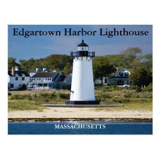 Porto Lighthous de Edgartown, cartão de