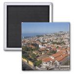 Portugal, ilha de Madeira, Funchal. Teleférico Ímã Quadrado