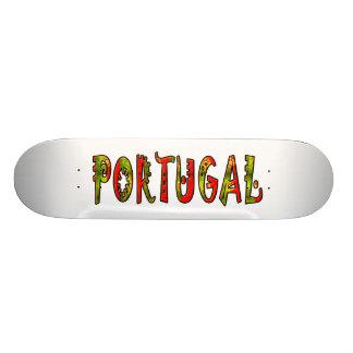 Portugal Shape De Skate 18,7cm