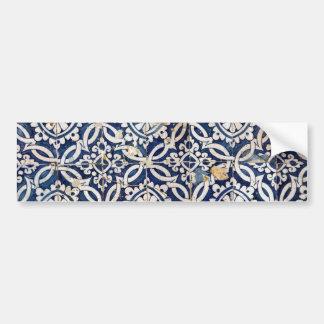 Português Azulejo do vintage Adesivo Para Carro