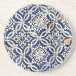 Português Azulejo do vintage Porta Copos