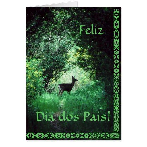 Português: Dos Pais do diâmetro Cartão
