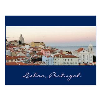 Português: Lisboa, Portugal Cartão Postal