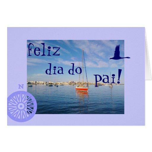 Português: O diâmetro faz o dia dos pais de pai/ Cartão