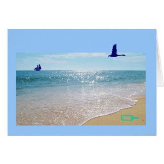 Português: O diâmetro faz o oceano/dia dos pais de Cartão Comemorativo