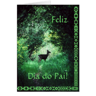 Português: O diâmetro faz Pai Cartão
