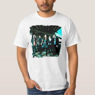 Posição final t-shirts