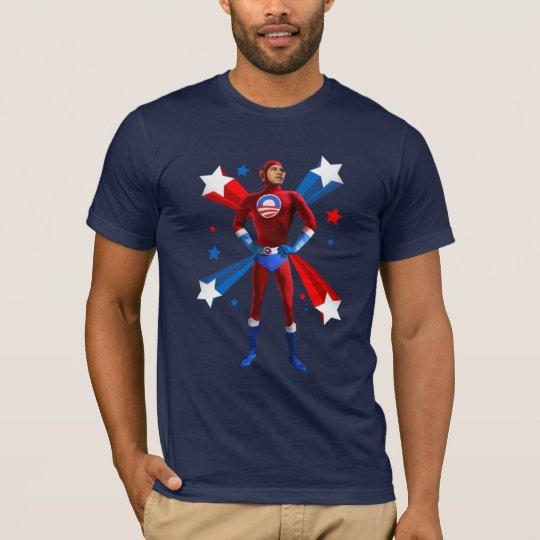 Posição heróico camiseta