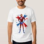 Posição heróico camisetas