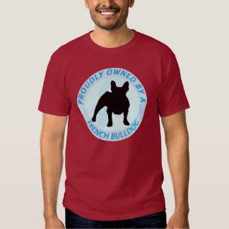 Possuído orgulhosa por um buldogue francês tshirt
