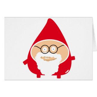 Postal de natal divertido - Funny Papai Noel
