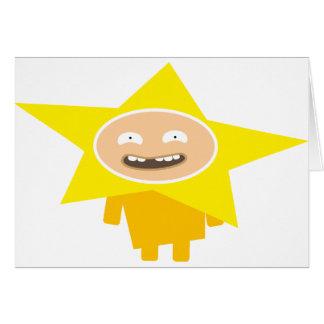 Postal de natal divertido - Funny Xmas estrela