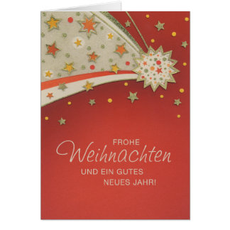 Postal de natal Sternenschweiff