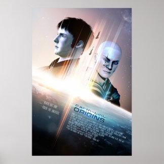 """Poster #002 das origens da Terra-Relação (24"""" x"""