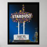 Poster #14 do gráfico de vetor de Stardust Las Veg