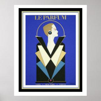 Poster 16 do art deco de Le Parfum+ x 20