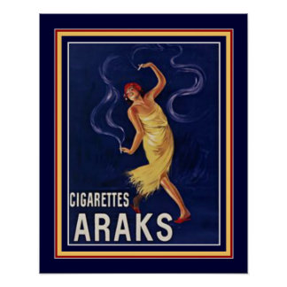 Poster 16 x 20 de Araks dos cigarros de Deco