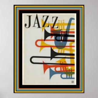 Poster 16 x 20 do jazz