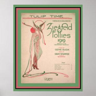 Poster 16 x 20 dos insensatez de Ziegfeld do tempo