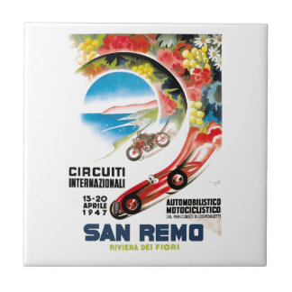 Poster 1947 grande da raça de San Remo Prix