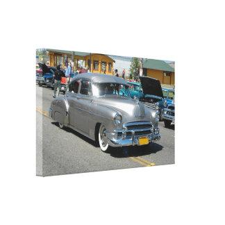Poster 1950 de Chevrolet Fleetline Impressão De Canvas Envolvidas