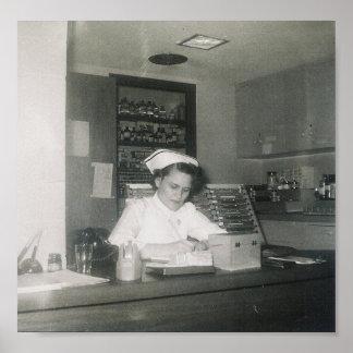 POSTER 1956 ENFERMEIRA #11