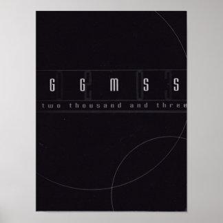 Poster 2003 do anuário de Graydon Gremlin
