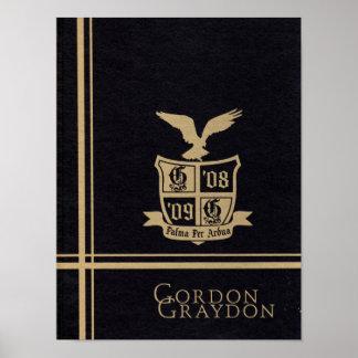 Poster 2009 do anuário de Graydon Gremlin