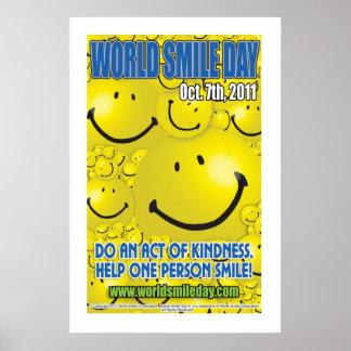 Poster 2011 de Day® do sorriso do mundo