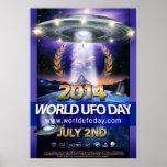 Poster 2014 do dia do UFO do mundo