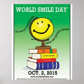 Poster 2015 de Day® do sorriso do mundo