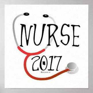 Poster 2017 do formando da enfermeira