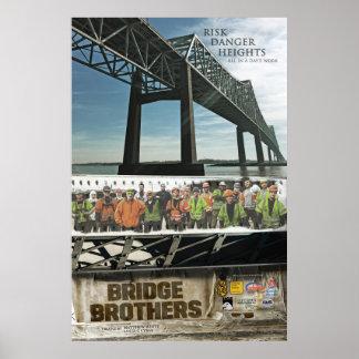 """Poster 24"""" dos irmãos da ponte x 36"""""""