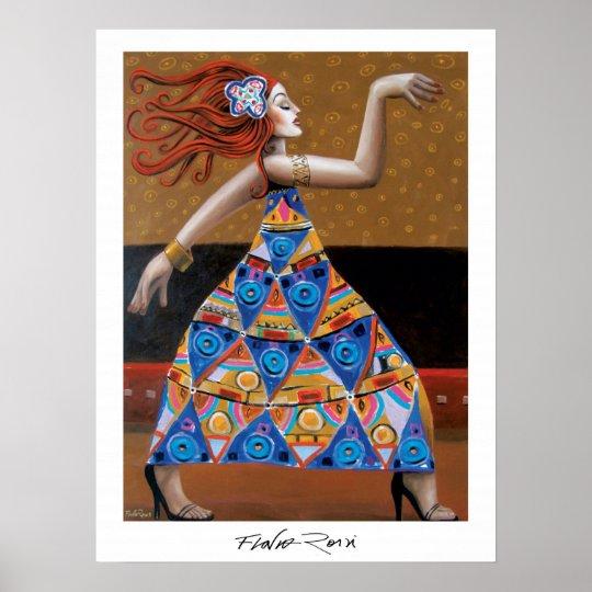 Poster 45,72x60,96cm: A Dama by Flavio Rossi