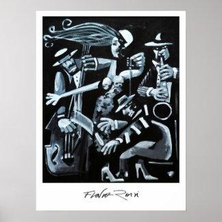 Poster 45,72x60,96cm: Jazz by Flavio Rossi