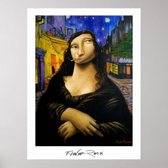 Poster 45,72x60,96cm : Monalivre by Flavio Rossi