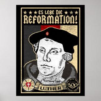 Pôster 500th Reforma Luther do aniversário Poster-Alemão