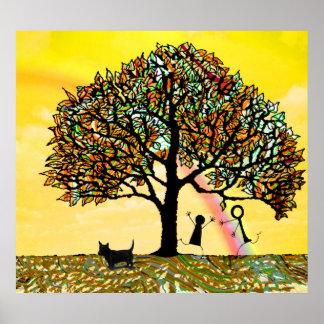 Pôster A árvore de vida renova