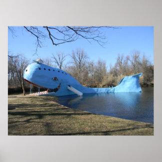 Pôster A baleia azul de Catoosa