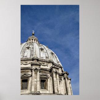 Pôster A basílica de St Peter (Basílica di San Pietro)