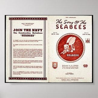 Pôster A canção dos Seabees