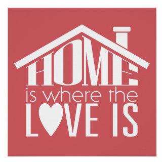Pôster A casa é o lugar onde o amor está